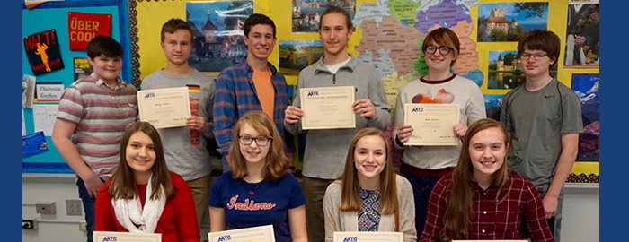 WHS German Students Score High
