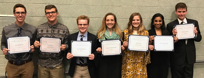 WHS Music Students Honored