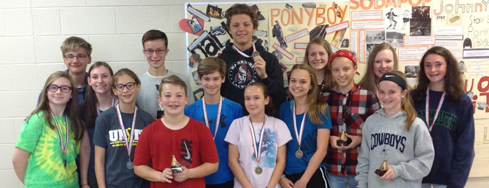 WMS Science Fair Winners