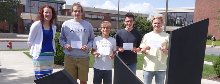 Four Commended in National Merit