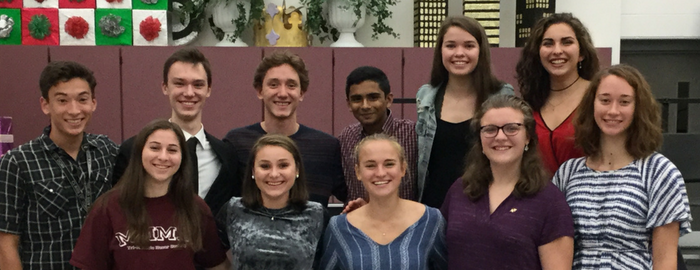 WHS Tri-M Installs Officers/Adds Members
