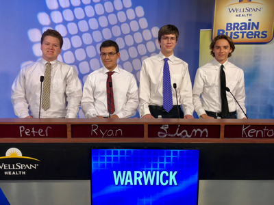 WHS Quiz Bowl Team on BrainBusters