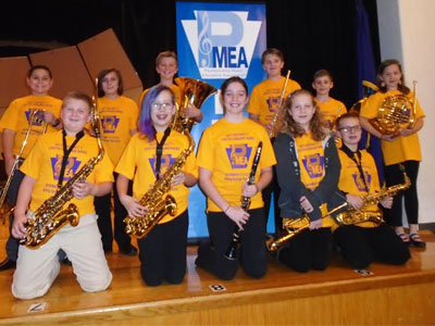 Sixth Grade Students Participate in Youth Honor Band