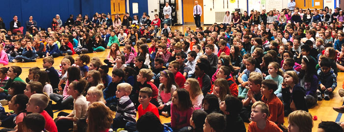 Warwick Holds Coding Assembly for All Elementary Schools