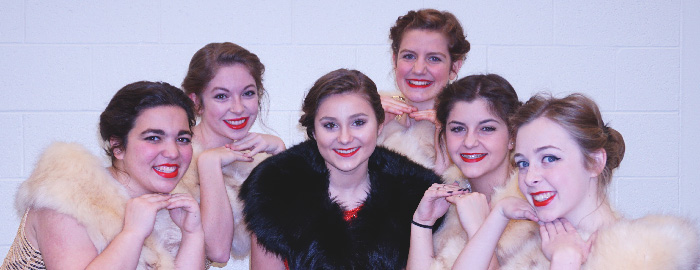 "High School Music Department Presents ""Anything Goes"""