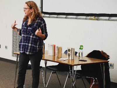 Young Adult Author A.S. King Speaks to Creative Writing Students