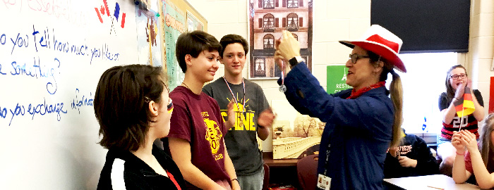 Warwick Middle School Holds First 'World Language Olympic Day'