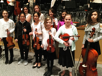 Warwick Represented at PMEA District 7 Youth String Festival