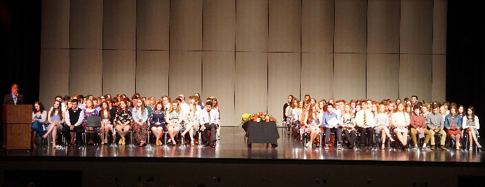 Warwick Chapter of the National Honor Society Inducts 62 New Members