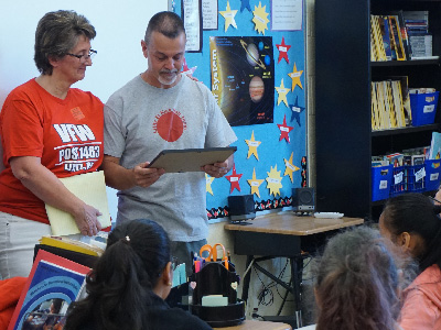 Lititz Elementary Sixth Grade Receives 'Patriotic Youth Award'