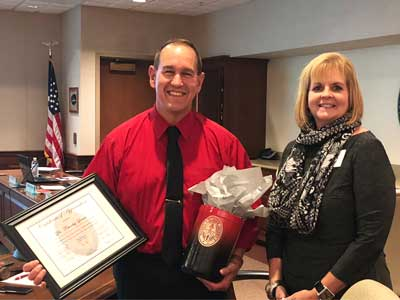 WSD Welcomes Dr. Timothy Quinn Back to School Board