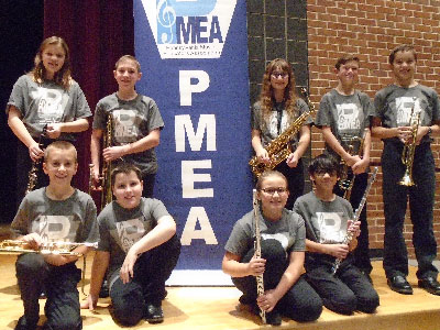 Warwick Sixth Grade Music Students Participate in Youth Honor Band