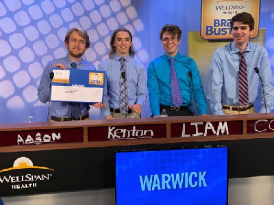 Warwick Students Compete in WGAL's 'Brainbuster' Competition