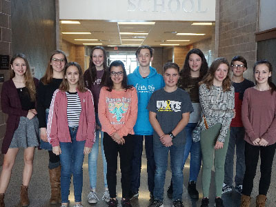 Warwick Writers Earn 2019 Scholastic Honors
