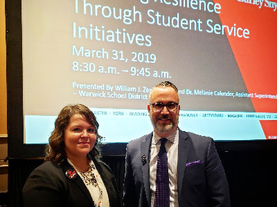 Dr. Calender Discusses Resilience at National School Board Event