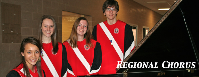 Four Selected for Regional Chorus