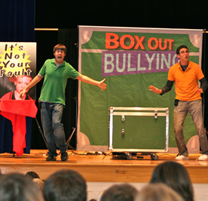 KH Hears Box Out Bullying Message